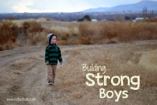 building strong boys series