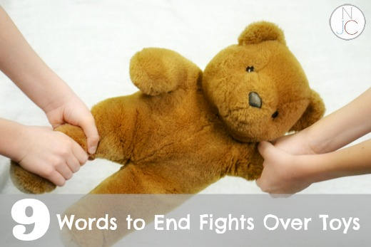 Nine Words to End Fights Over Toys