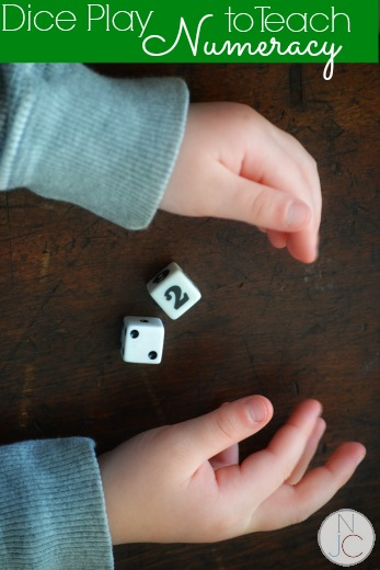 Dice Play that Teaches Kids Numeracy
