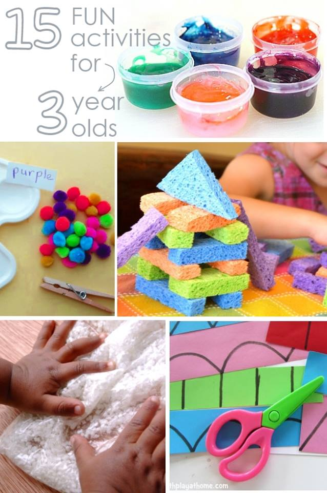 15 fun activities for 3 year olds for Paredes sensoriales
