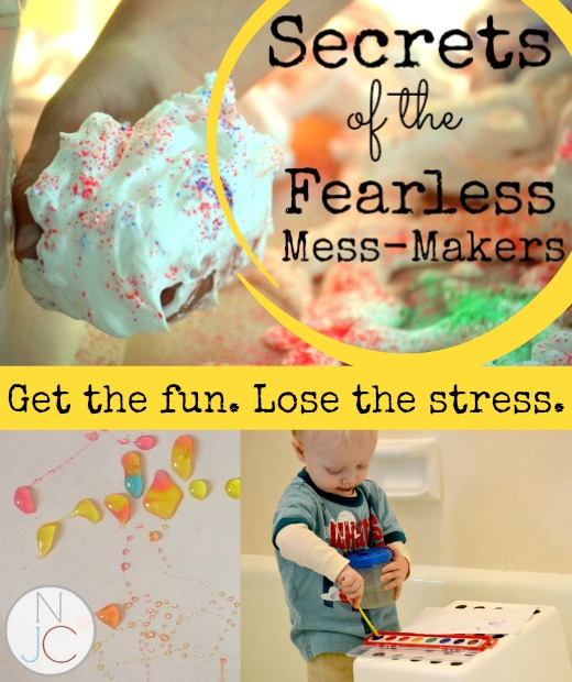 Secrets of the Fearless Mess Makers Long