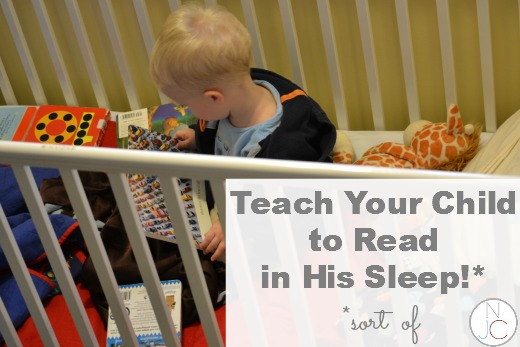 Teach Your Child to Read in His Sleep